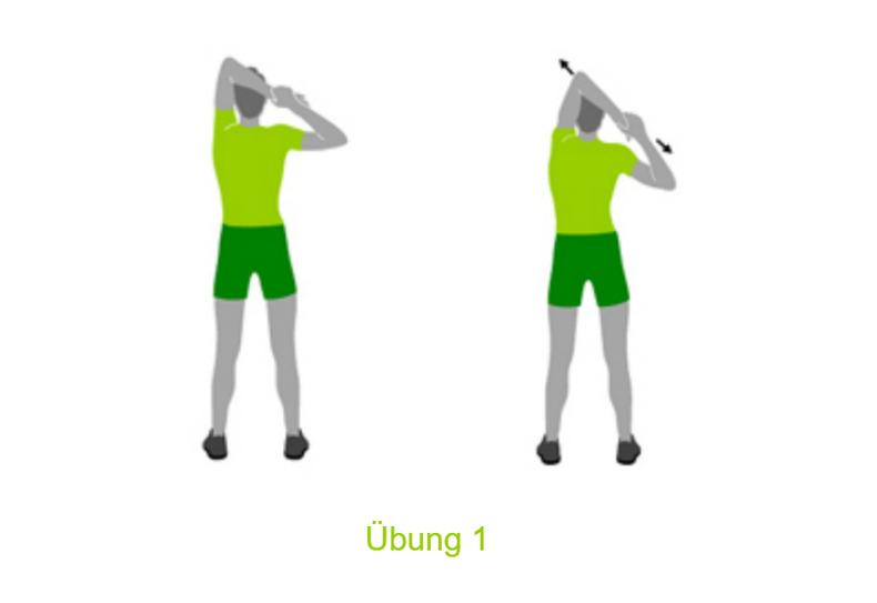 Dehnübungen Schultern & Arme   Joggen Online
