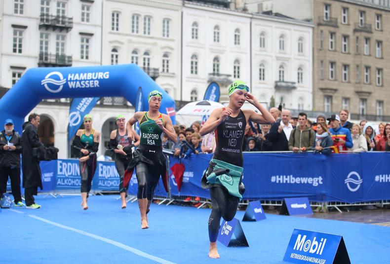 Die Ergebnisse Des 17 World Triathlon In Hamburg Joggen Online