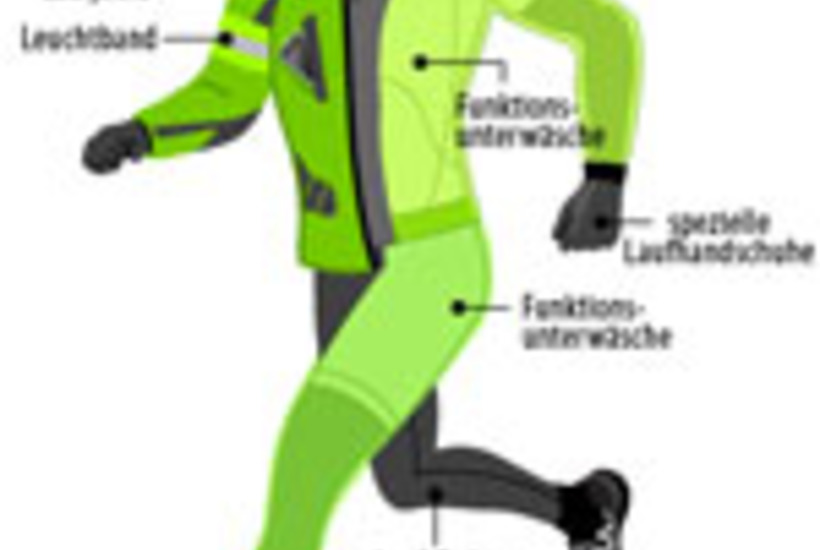 Laufkleidung für den Winter Running Elements