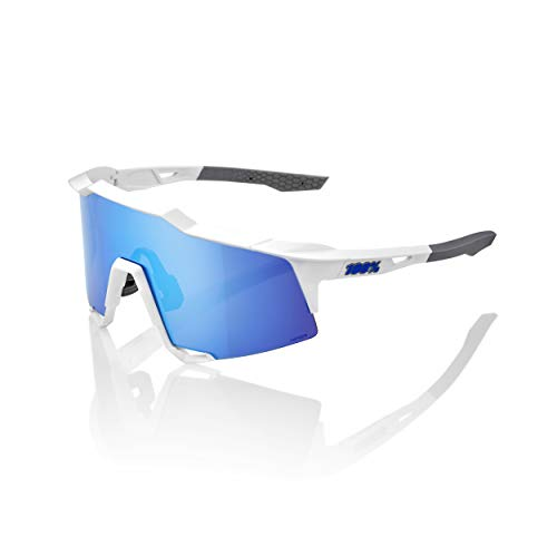 100% Speedcraft Brille Tall Matte White/HD Multilayer/hiper 2020 Fahrradbrille von 100%