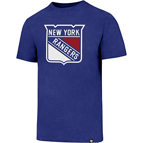 47 Brand NHL New York Rangers Knockaround Club Tee T-Shirt Mens Forty Seven von 47 Brand