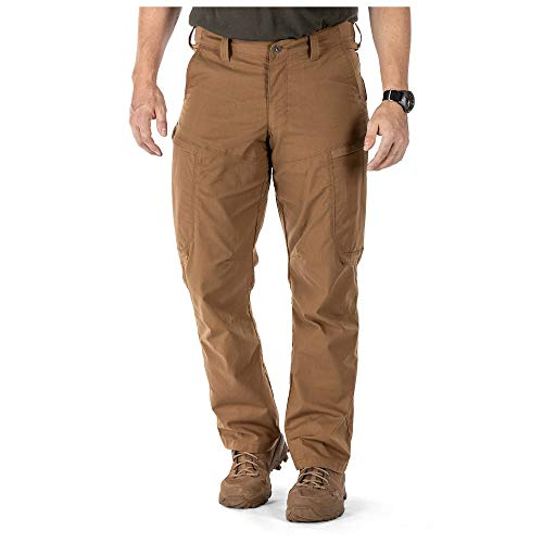 5.11 Tactical Apex Cargo-Arbeitshose, Flex-Tac-Stretch-Stoff, Zwickel, Teflon-Finish, Stil 74434, Herren, Braun - Battle Brown, 31W x 30L von 5.11