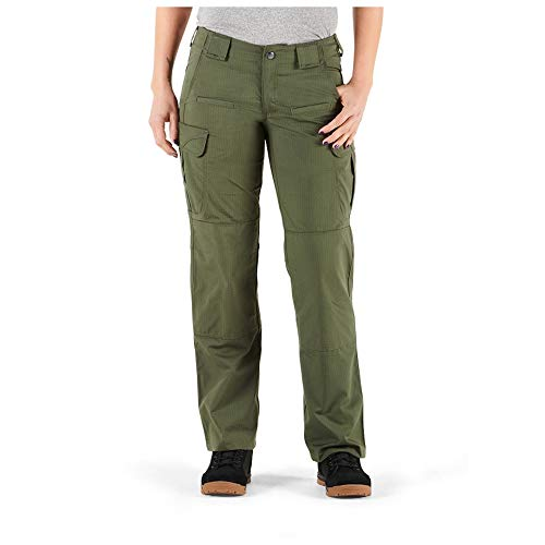 5.11 Tactical Damen Stryke Covert Cargo Hose Stretchable Stoff Zwickel Konstruktion Stil 64459, Damen, TDU Grün, 4 von 5.11