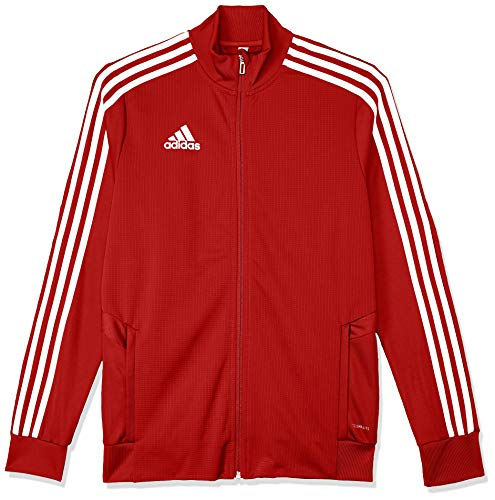 adidas Kinder TIRO19 TR JKTY Sport Jacket, Power red/Red/White, 1516 von adidas