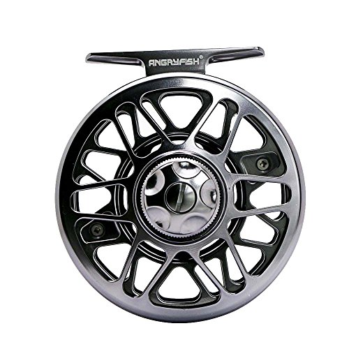 ANGRYFISH Fly Fishing Reel with CNC-machined Aluminum Alloy Body 7/8 von ANGRYFISH