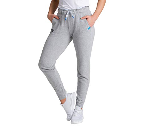 ARENA Damen Jogging Hose Te Fleece Jogginghose, medium Grey Melange, M von ARENA