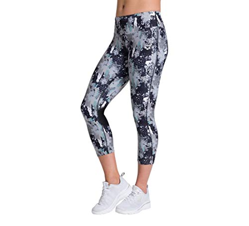 ARENA Damen Sport 3/4 Hose Gym Tights, Pixel Planet, XS von ARENA