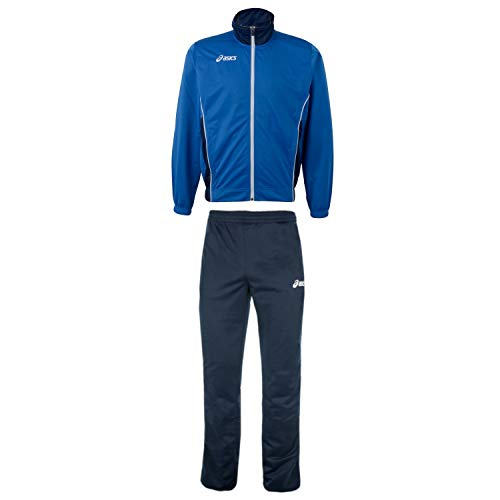 ASICS Herren Trainingsanzug Suit Victor (royal-Navy, XXL (58)) von ASICS
