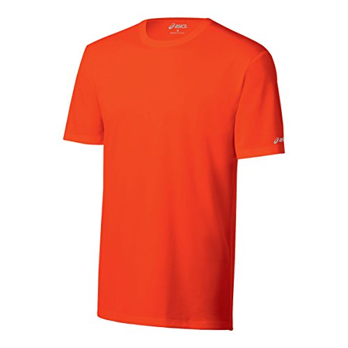 ASICS Kurzärmliges T-Shirt für Herren, Herren, Kegel Orange, XX-Small von ASICS