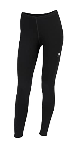 Aclima Warm Wool Long Pants Women Größe S jet black von Aclima