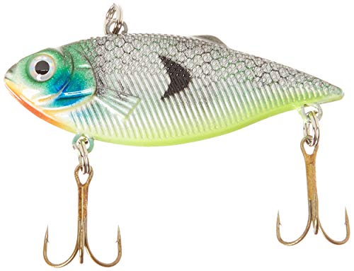 Akuna BP 89–97 Rattlin' Rover Lipless Serie, sinkender Köder, 6,35 cm, Bluegill, Single von Akuna