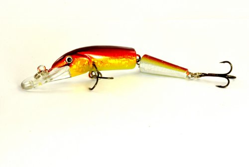 Akuna Broken Tail Serie Topwater Kunstköder, 9,9 cm, Holographic AZ Sunset, Two of One Color von Akuna