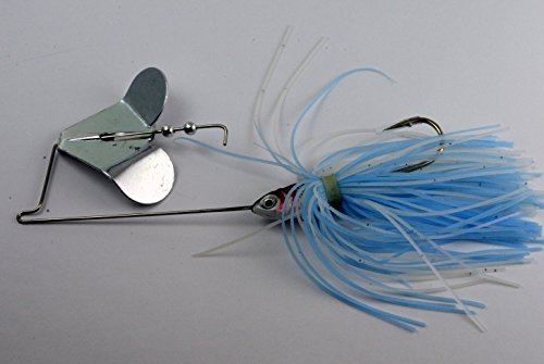 Akuna Buzzin Bomb Buzzbaits, Blue Moon, Three of One Color von Akuna