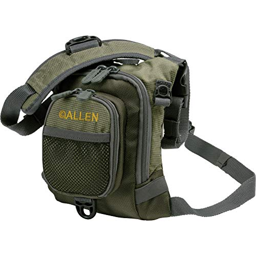Allen Bear Creek Micro Fishing Chest Vest Olive Small Fly Fishing Chest Vest von Allen Company