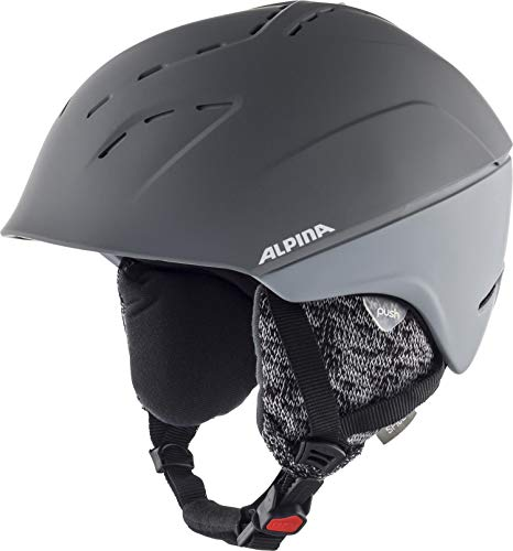ALPINA Damen Spice Skihelm, Grey matt, 52-56 cm von ALPINA