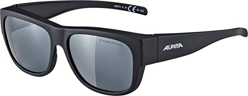 ALPINA Erwachsene Overview II P Outdoorsport-Brille, Black Matt, One Size von ALPINA