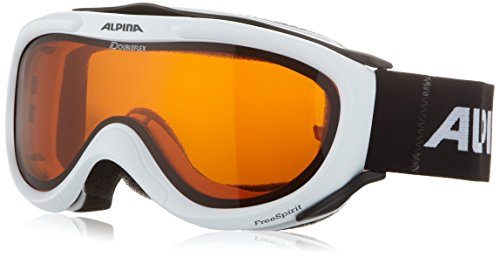 Alpina Skibrille FreeSpirit, weiss dlh (white dlh), One size, A7008-111 von ALPINA