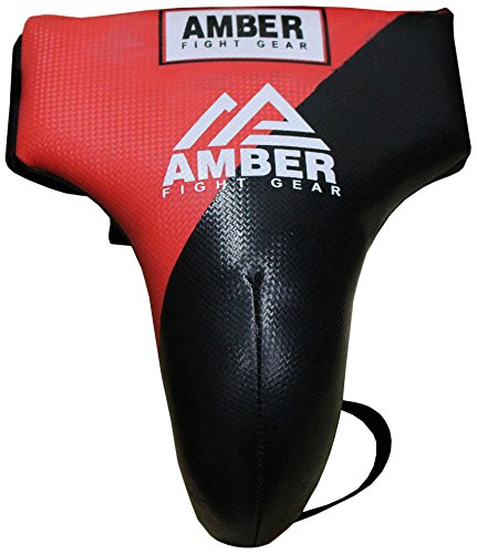 Amber Fight Gear MMA Groin Cup Boxing Adult Groin Protector Jock Strap Muay Thai XS von Amber Fight Gear