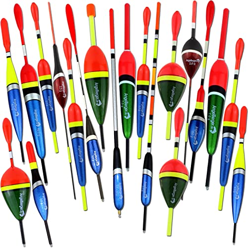 Angel-Berger Balsaholz Multicolor Waggler