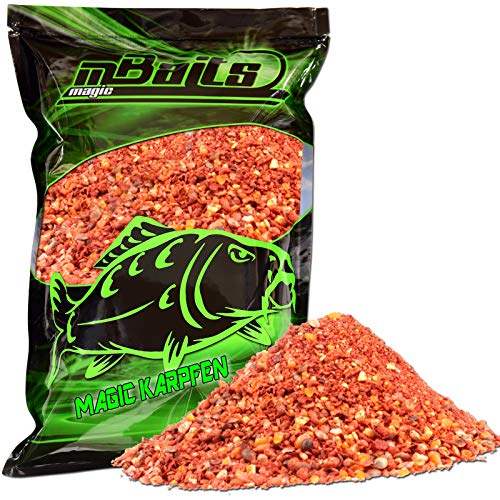 Angel-Berger Magic Baits Groundbait Grundfutter Angelfutter Verschiedene Sorten (Magic Karpfen, 3Kg) von Angel-Berger