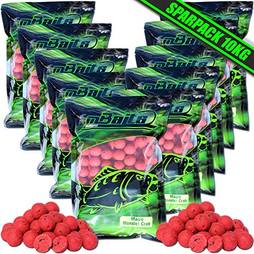 Angel-Berger Magic Baits Boilies 10 Kg Verschiedene Sorten (Magic Monster Crab) von Angel-Berger