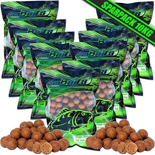 Angel-Berger Magic Baits Boilies 10 Kg Verschiedene Sorten (Magic Scopex) von Angel-Berger