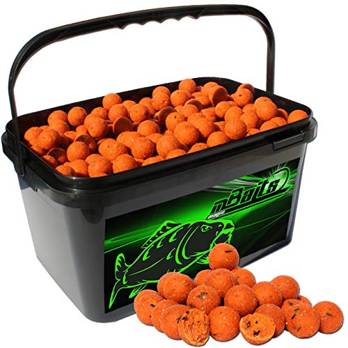 Angel-Berger Magic Baits Boilies im Eimer 4 kg (Tutti Frutti) von Angel-Berger