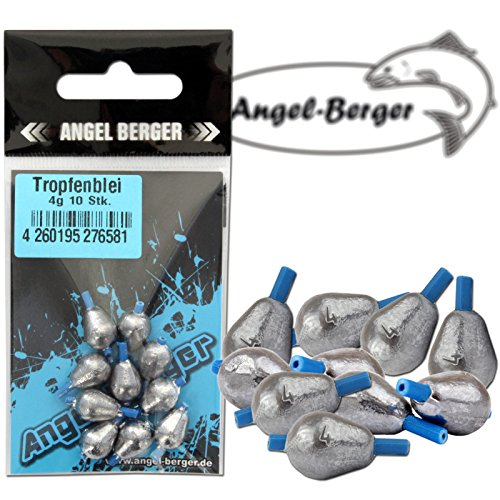 Angel-Berger Tropfenblei Angelblei Blei (7g) von Angel-Berger