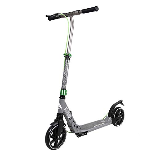 Apollo High End Scooter - Tornado City Scooter mit Bremse und Federung, City-Roller klappbar und höhenverstellbar, Kickscooter für Erwachsene und Kinder von Apollo