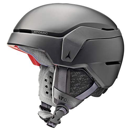 Atomic Unisex Count All Mountain-Skihelm, L (59-63 cm), Schwarz, AN5005550L von Atomic
