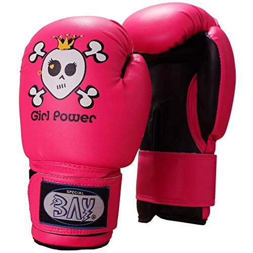 BAY® GIRL POWER (4 Unzen) pink posa Kinder Boxhandschuhe (4 Unzen) von BAY®