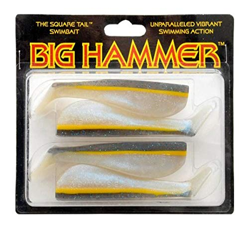 Big Hammer Swimbait, Bay Smelt, 12,7 cm von BIG HAMMER