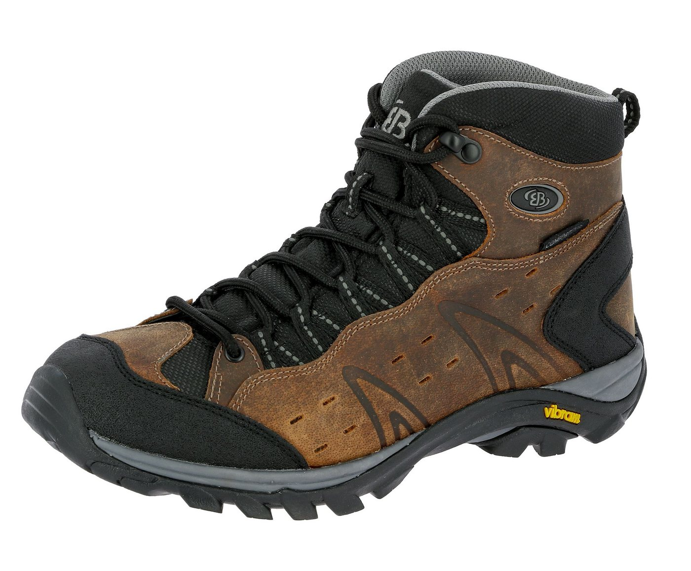 BRÜTTING »Outdoorschuh Mount Hona High Classic« Wanderschuh von BRÜTTING