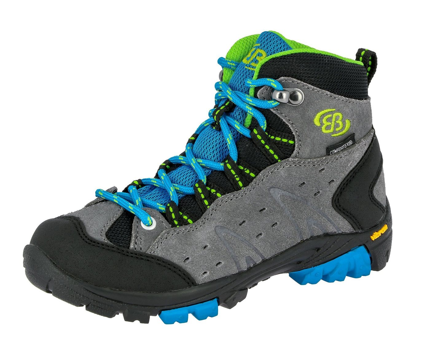 BRÜTTING »Outdoorstiefel Mount Bona High Kids« Outdoorschuh von BRÜTTING