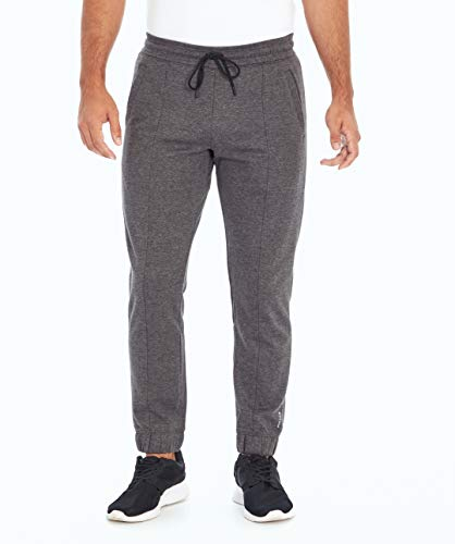 Balance Collection Herren Alan Pocket Jogger Hosen, kohleschwarz meliert, Large von Balance Collection
