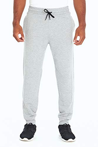 Balance Collection Herren Alva Pocket Jogger Hosen, Heather Light Grey, Medium von Balance Collection