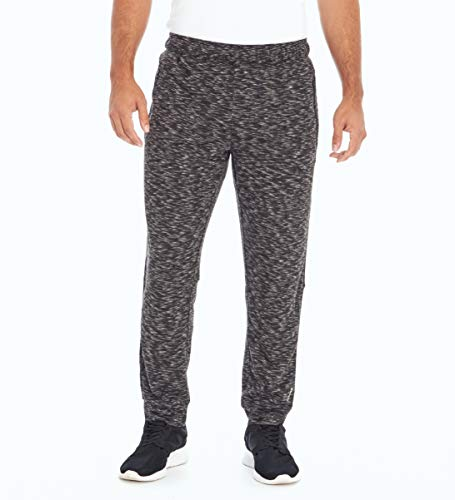 Balance Collection Herren Arena Jogger Zip Pocket Pant Hosen, Heather Black, Medium von Balance Collection
