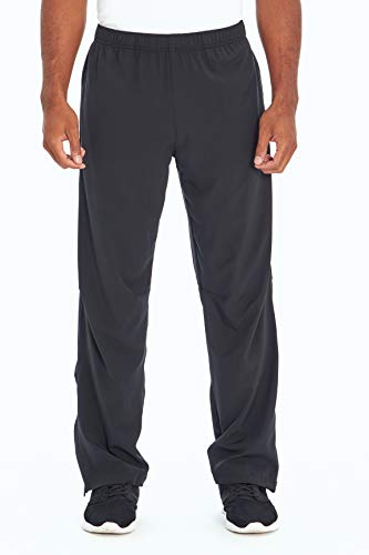 Balance Collection Herren Stretch Woven Pant Hosen, schwarz, Small von Balance Collection