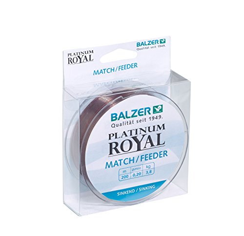 Balzer Platinum Royal Match/Feeder 0,22 mm von Balzer