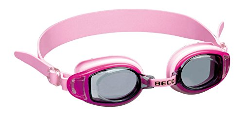 Beco Acapulco Schwimmbrille, Pink, One Size von Beco