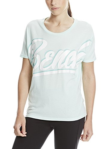 Bench Damen Oversized Graphic Tee T-Shirt, Honeydew, M von Bench