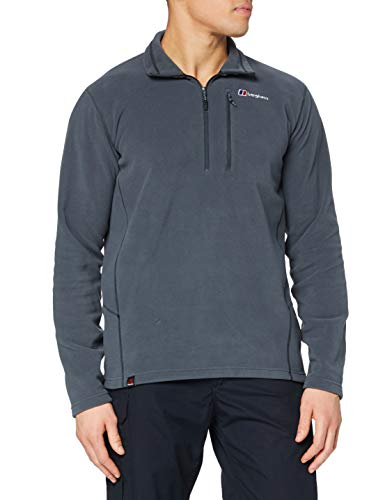 berghaus Damen Prism Micro Polartec Half Zip Fleece Top, Carbon, 2X-Large von berghaus