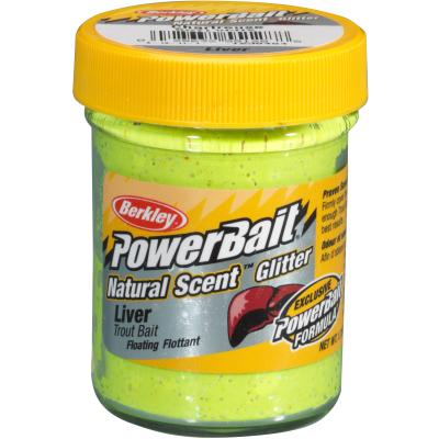 Berkley Powerbait Dough Natural Scent Liver - Spring Green von Berkley