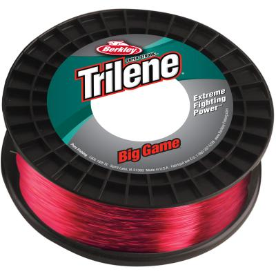 Berkley Trilene Big Game 65LB 0.70MM 600M rot von Berkley