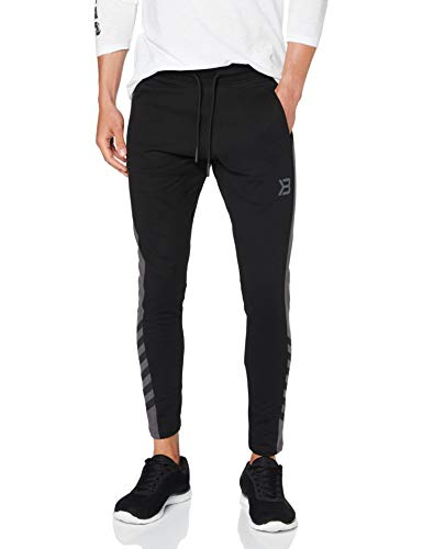 Better Bodies Herren Fulton Sweatpants Hose, schwarz, M von Better Bodies