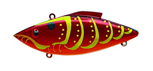 Bill Lewis Lures KRT587 Knock-N-Trap Rayburn Red Craw, 1/2 oz von Bill Lewis Lures