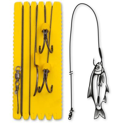 Black Cat 10/0,4/0,4/0 Big Bait Ghost Rig XL 100kg 1Stück 1,40m von Black Cat