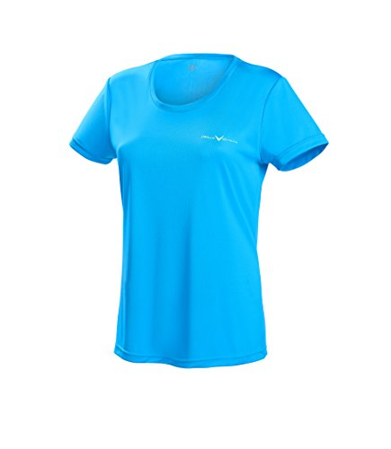 Black Crevice Damen T-Shirt Function, blue3, 42 von Black Crevice