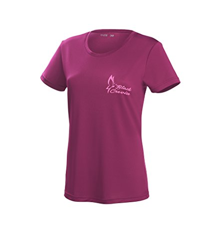 Black Crevice Damen T-Shirt Function, purple2, 42 von Black Crevice