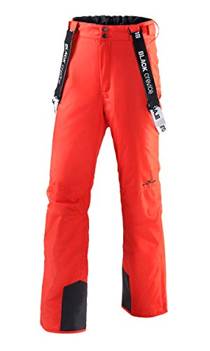 Black Crevice Herren Skihose, Rot, 48 von Black Crevice